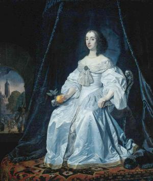Maria Henriëtte Stuart, 1652, Amsterdam, Rijksmuseum