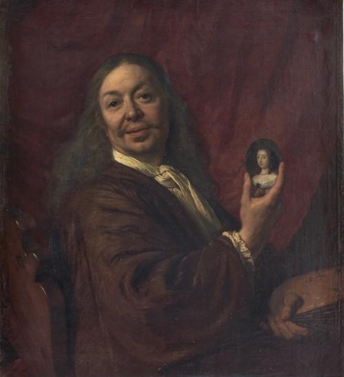 Zelfportret, 1667, Florence, Uffizi