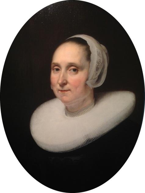 Portret van een dame, 1647