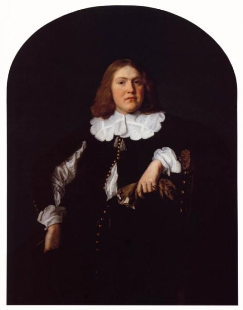 Portret van een heer, 1645